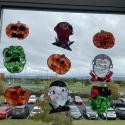 Room 10 - Halloween sun catchers