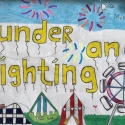 A Funder and Lightning Experience by Sabira in 5th Class
